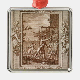 The Acquisition of Corsica in 1768 Christmas Ornament