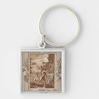 The Acquisition of Corsica in 1768 Key Ring