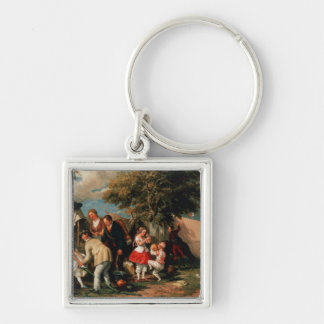 The Acrobats' Camp, Epsom Downs Key Chain