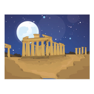 The Acropolis of Athens Postcard