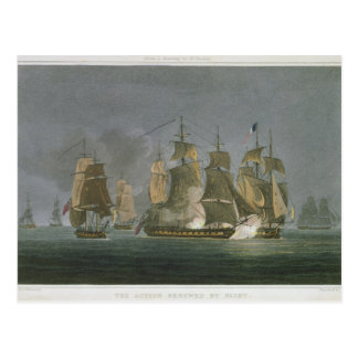 The Action Renewed by Night, off Madagascar, 20th Postcard