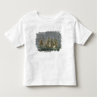 The Action Renewed by Night, off Madagascar, 20th Toddler T-Shirt