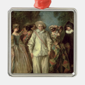 The Actors of the Commedia dell'Arte Christmas Ornament
