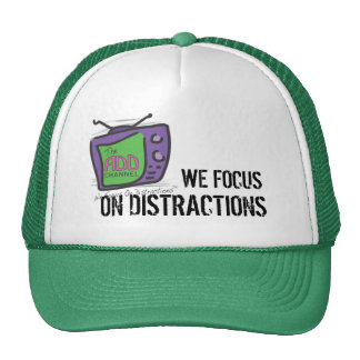 The ADD Channel - We Focus On Distractions Hats