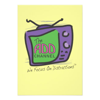 The ADD Channel - We Focus On Distractions Announcement
