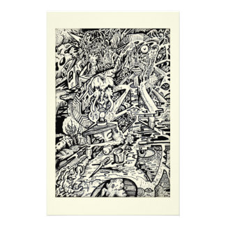 The Adept, or, A Freakish Transfiguration Personalised Stationery