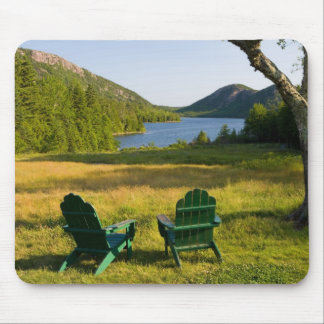 The Adirondack Chairs on the lawn of the Jordan Mouse Mat