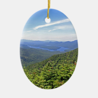 The Adirondacks, New York Christmas Ornament