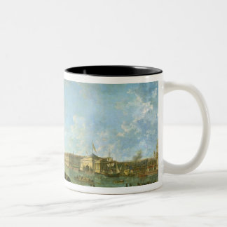 The Admiralty and the Winter Palace Two-Tone Coffee Mug