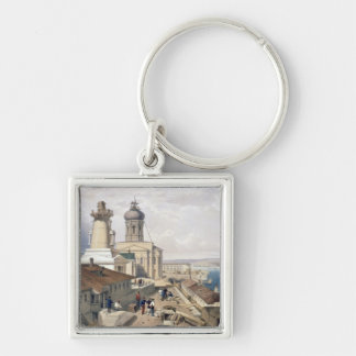 The Admiralty, Sebastopol, plate from 'The Seat of Silver-Colored Square Key Ring
