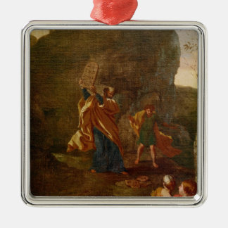 The Adoration of the Golden Calf, before 1634 Christmas Ornament
