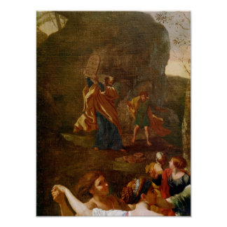 The Adoration of the Golden Calf before 1634 Print