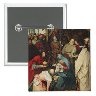 The Adoration of the Kings, 1564 15 Cm Square Badge