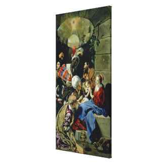 The Adoration of the Kings, 1612 Canvas Print