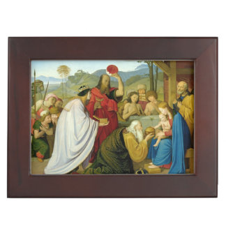 The Adoration of the Kings, 1813 Keepsake Box