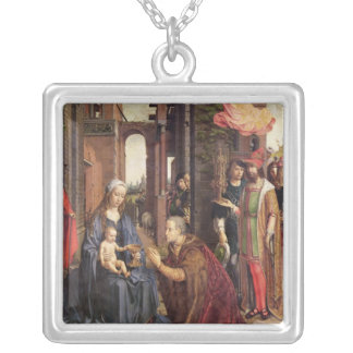 The Adoration of the Kings Silver Plated Necklace