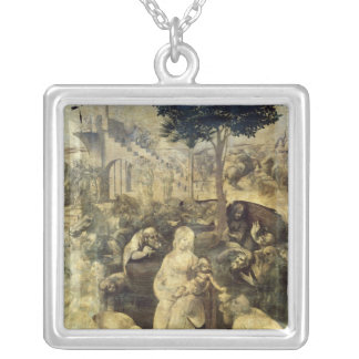 The Adoration of the Magi, 1481-2 Silver Plated Necklace
