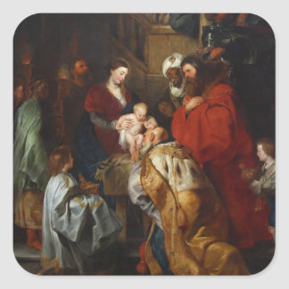 The Adoration of the Magi by Peter Paul Rubens Stickers