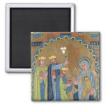 The Adoration of the Magi, c.1189 Magnet