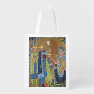 The Adoration of the Magi, c.1189 Reusable Grocery Bag