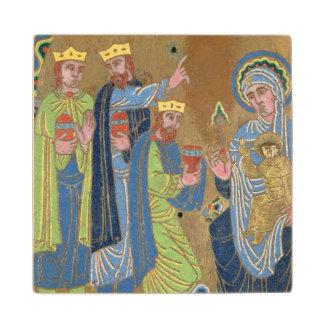 The Adoration of the Magi, c.1189 Wood Coaster