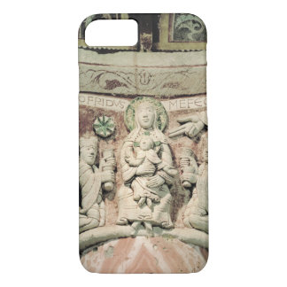 The Adoration of the Magi, column capital (stone) iPhone 8/7 Case
