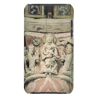 The Adoration of the Magi, column capital (stone) iPod Touch Case