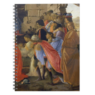 The Adoration of the Magi, detail of depicting sel Notebooks