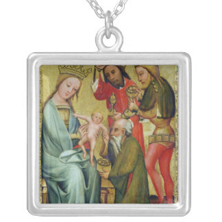 The Adoration of the Magi from Silver Plated Necklace