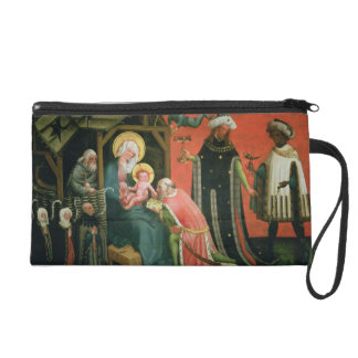 The Adoration of the Magi (oil on panel) Wristlet Clutch