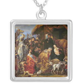 The Adoration of the Magi Silver Plated Necklace