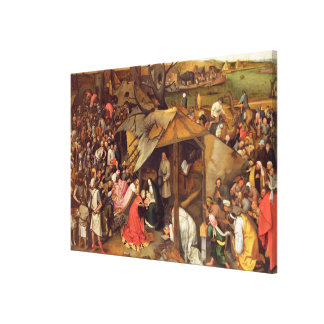 The Adoration of the Magi Stretched Canvas Prints