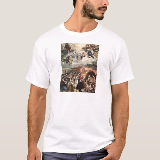 The Adoration of the Name of Jesus by El Greco T-Shirt
