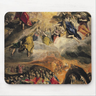 The Adoration of the Name of Jesus, c.1578 Mouse Mat