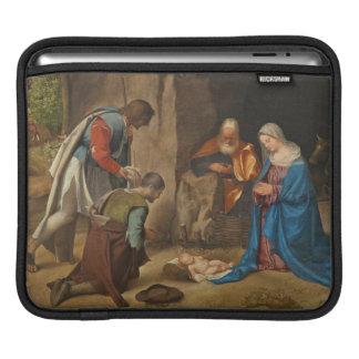 The Adoration of the Shepherds, 1505-10 iPad Sleeve