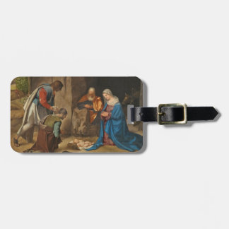 The Adoration of the Shepherds, 1505-10 Luggage Tag