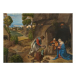 The Adoration of the Shepherds, 1505-10 Poster