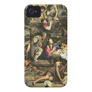 The Adoration of the Shepherds, 1612 (oil on canva iPhone 4 Case-Mate Case