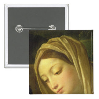 The Adoration of the Shepherds 2 15 Cm Square Badge
