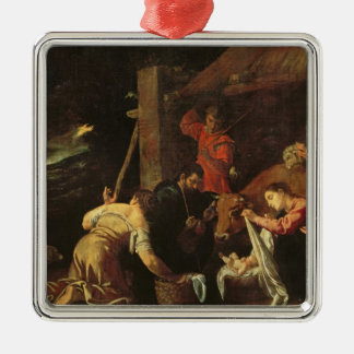 The Adoration of the Shepherds 2 Christmas Ornament
