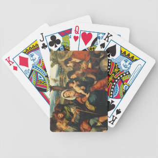The Adoration of the Shepherds 3 Bicycle Playing Cards