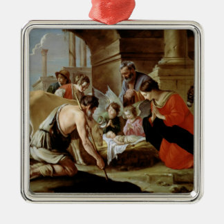 The Adoration of the Shepherds, c.1638 Christmas Ornament