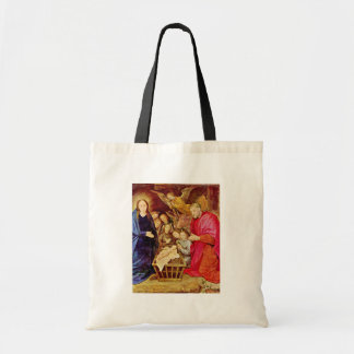 The Adoration Of The Shepherds Detail By Goes Hugo Canvas Bag