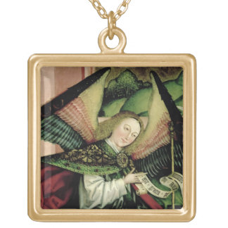 The Adoration of the Shepherds - detail of an Ange Gold Plated Necklace
