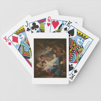 The Adoration of the Shepherds (oil on canvas) 2 Poker Deck