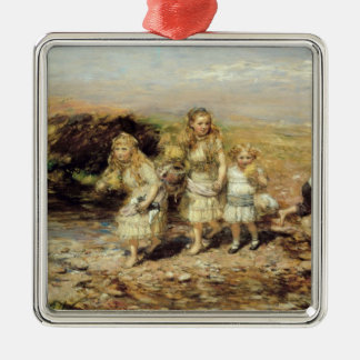 The Adventure, 1883 (oil on canvas) Christmas Ornament