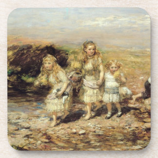 The Adventure, 1883 (oil on canvas) Coaster