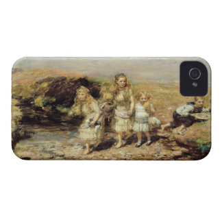 The Adventure, 1883 (oil on canvas) iPhone 4 Case-Mate Case