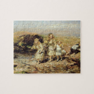 The Adventure, 1883 (oil on canvas) Jigsaw Puzzle