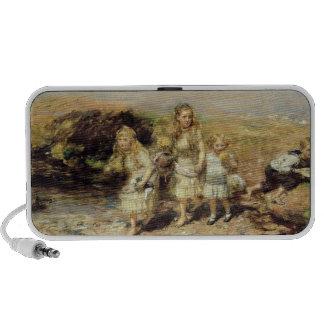The Adventure, 1883 (oil on canvas) iPhone Speaker